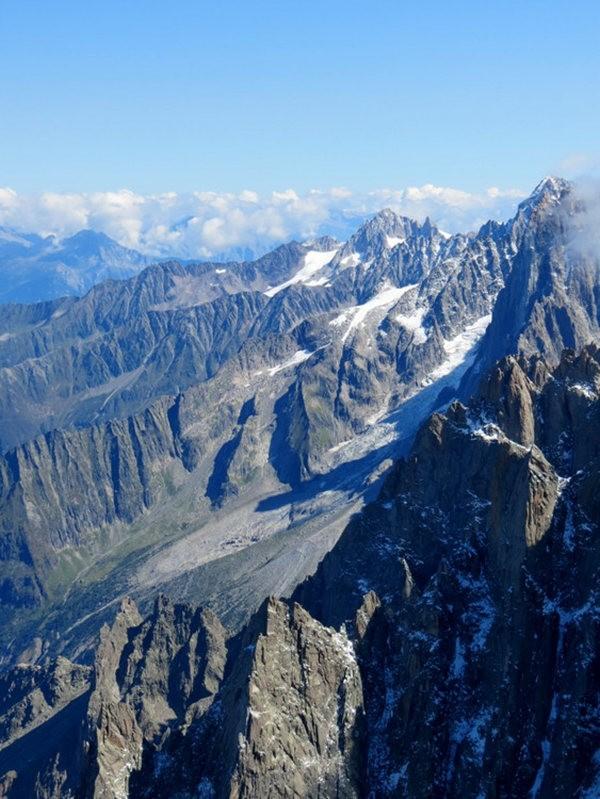 从南针峰.观看阿尔卑斯山全景_图1-28