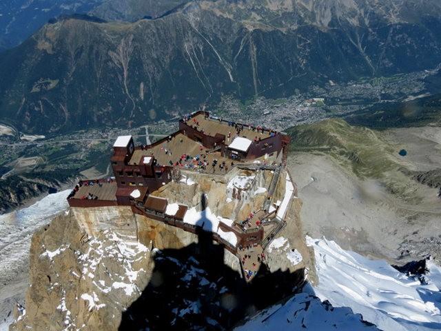 从南针峰.观看阿尔卑斯山全景_图1-34