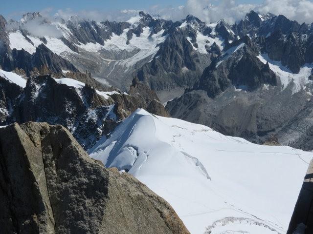从南针峰.观看阿尔卑斯山全景_图1-36