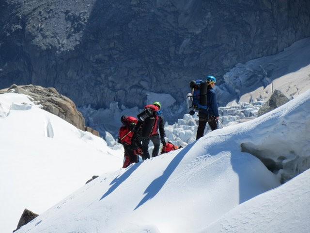 从南针峰.观看阿尔卑斯山全景_图1-38
