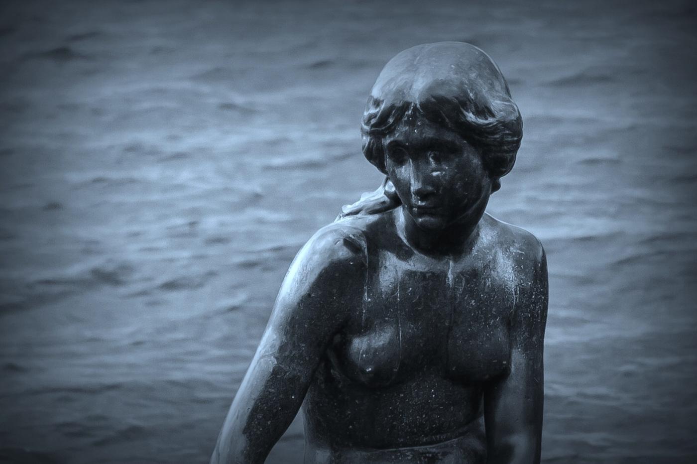 丹麦美人鱼雕像,雕塑家妻子为蓝本_图1-13