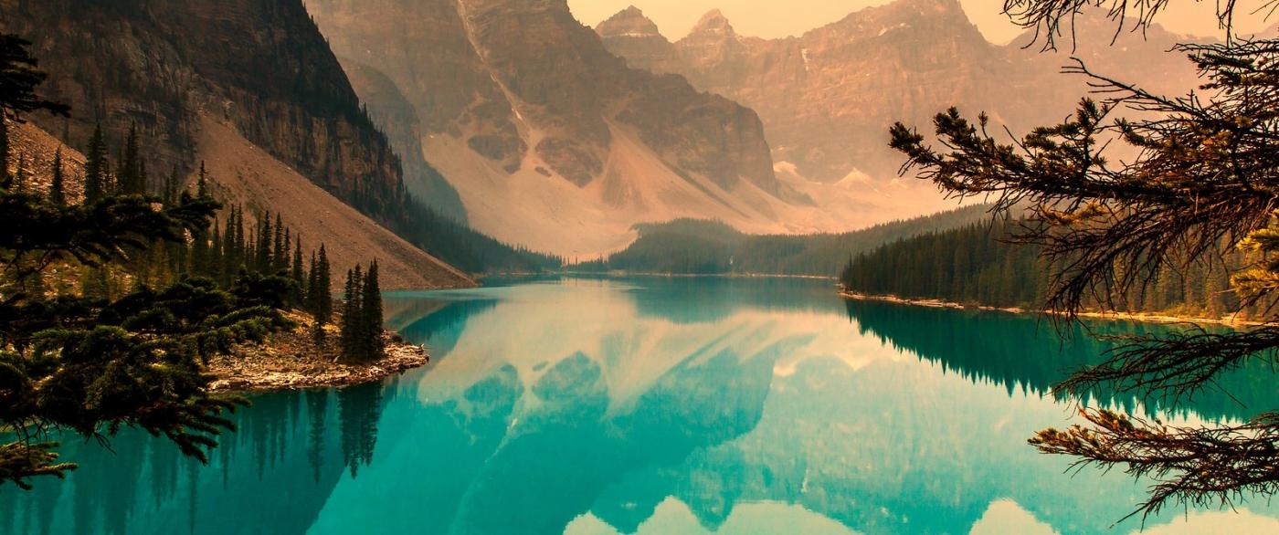 加拿大梦莲湖,有梦的地方_图1-3