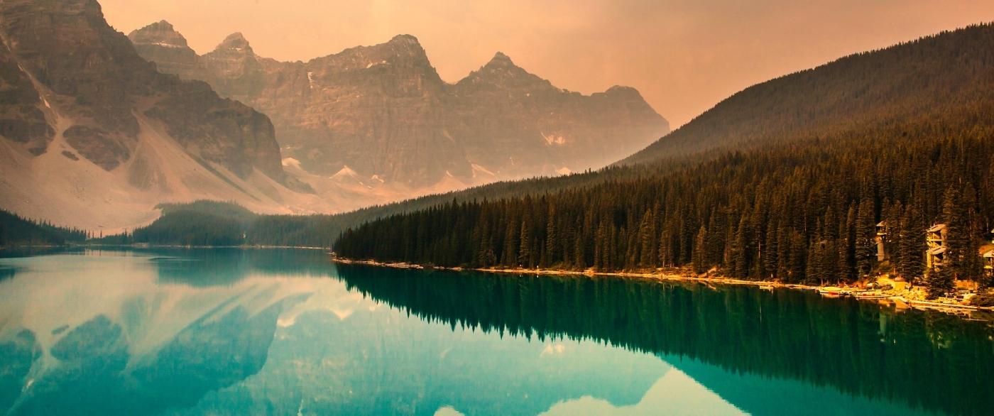 加拿大梦莲湖,有梦的地方_图1-5