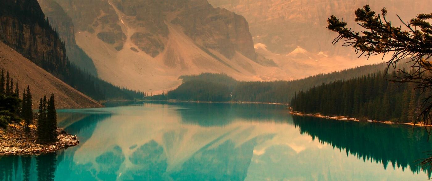 加拿大梦莲湖,有梦的地方_图1-4