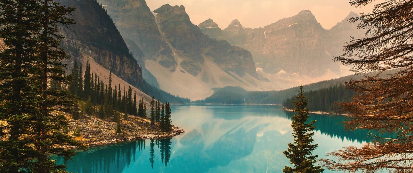 加拿大梦莲湖,有梦的地方_图1-2