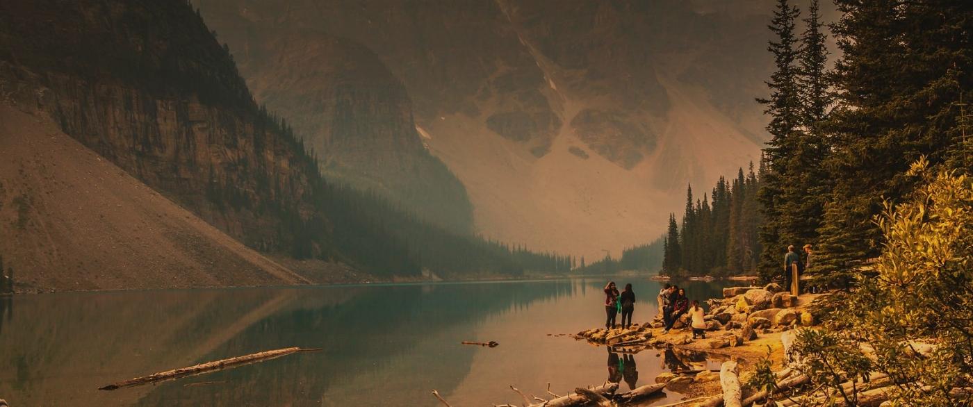 加拿大梦莲湖,有梦的地方_图1-6