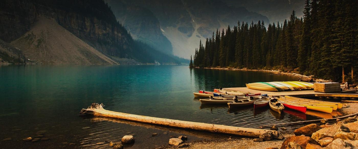 加拿大梦莲湖,有梦的地方_图1-1