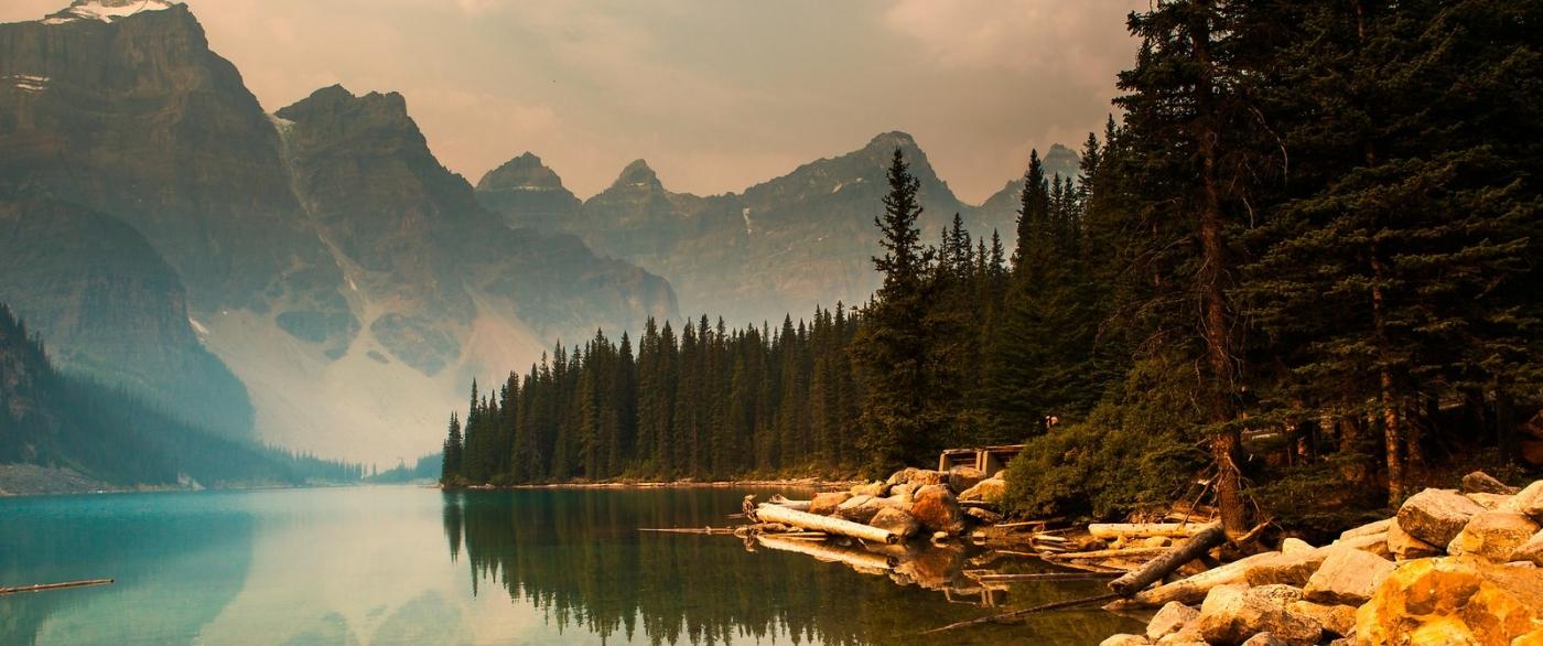 加拿大梦莲湖,有梦的地方_图1-9