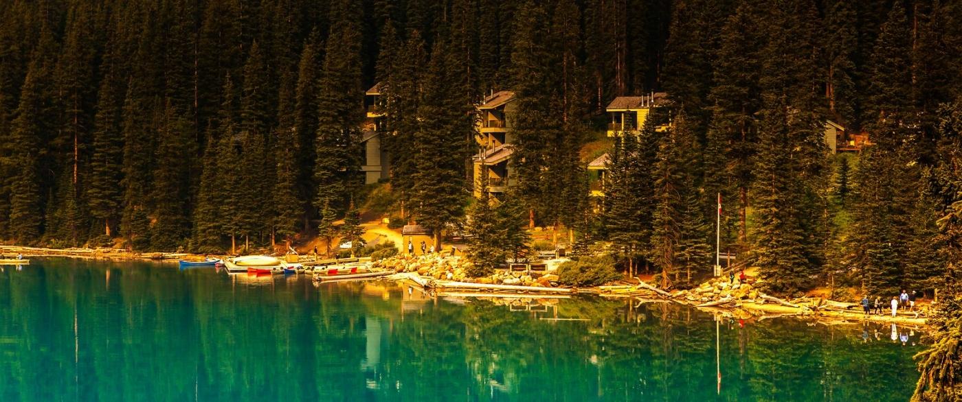 加拿大梦莲湖,有梦的地方_图1-12