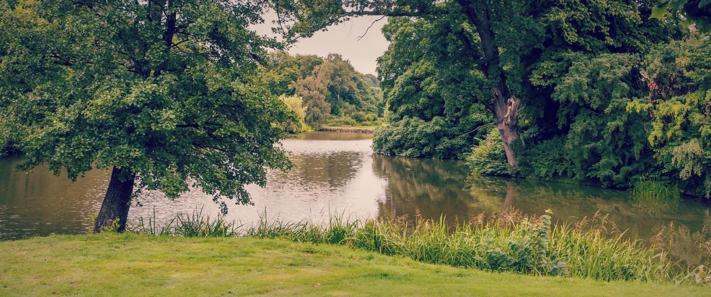 丹麦腓特烈堡城堡,周边的景色_图1-4