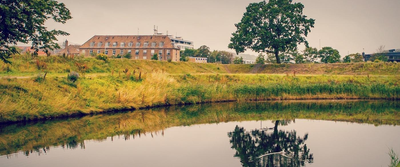 丹麦腓特烈堡城堡,周边的景色_图1-5