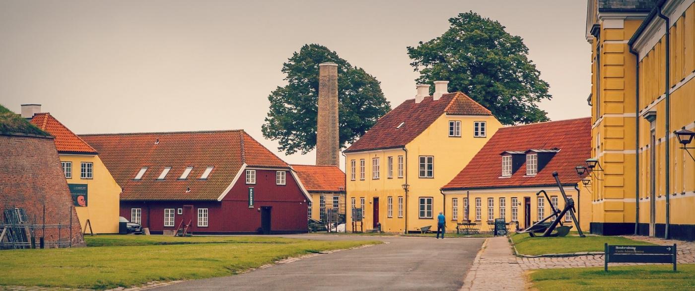 丹麦腓特烈堡城堡,周边的景色_图1-8