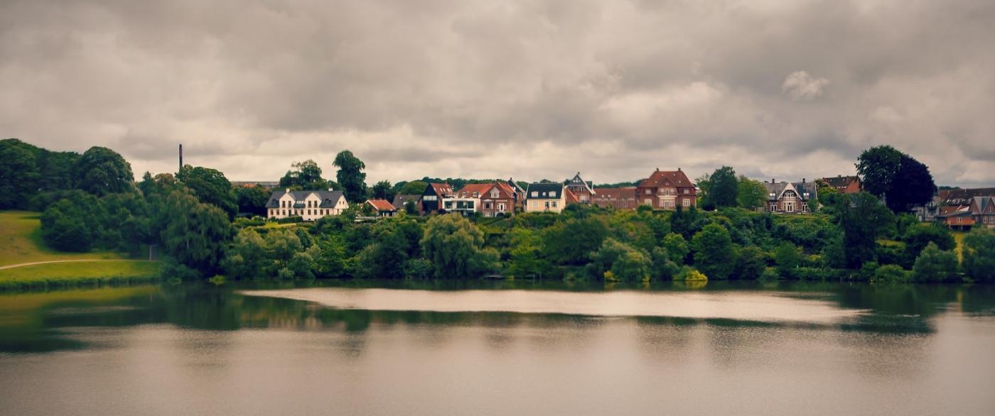 丹麦腓特烈堡城堡,周边的景色_图1-9