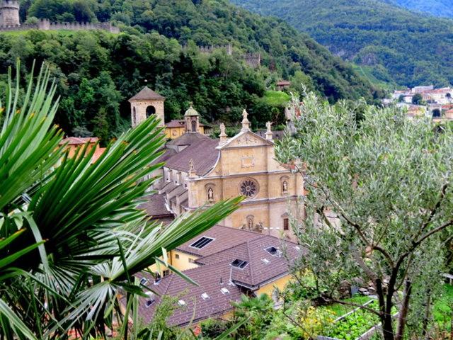 贝林佐纳----瑞士的意大利小镇_图1-1