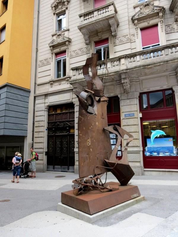 贝林佐纳----瑞士的意大利小镇_图1-16