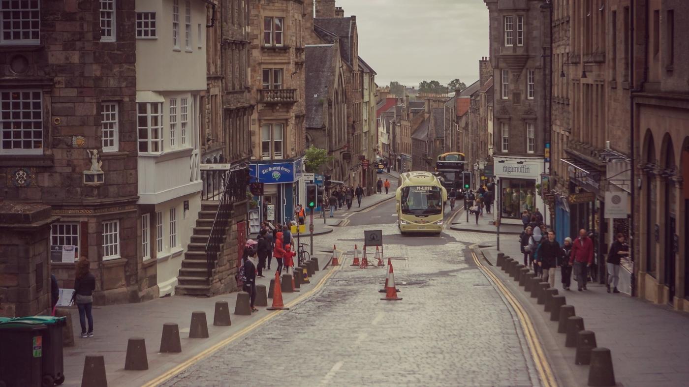 甦格蘭愛丁堡,十字路口看街景_圖1-11
