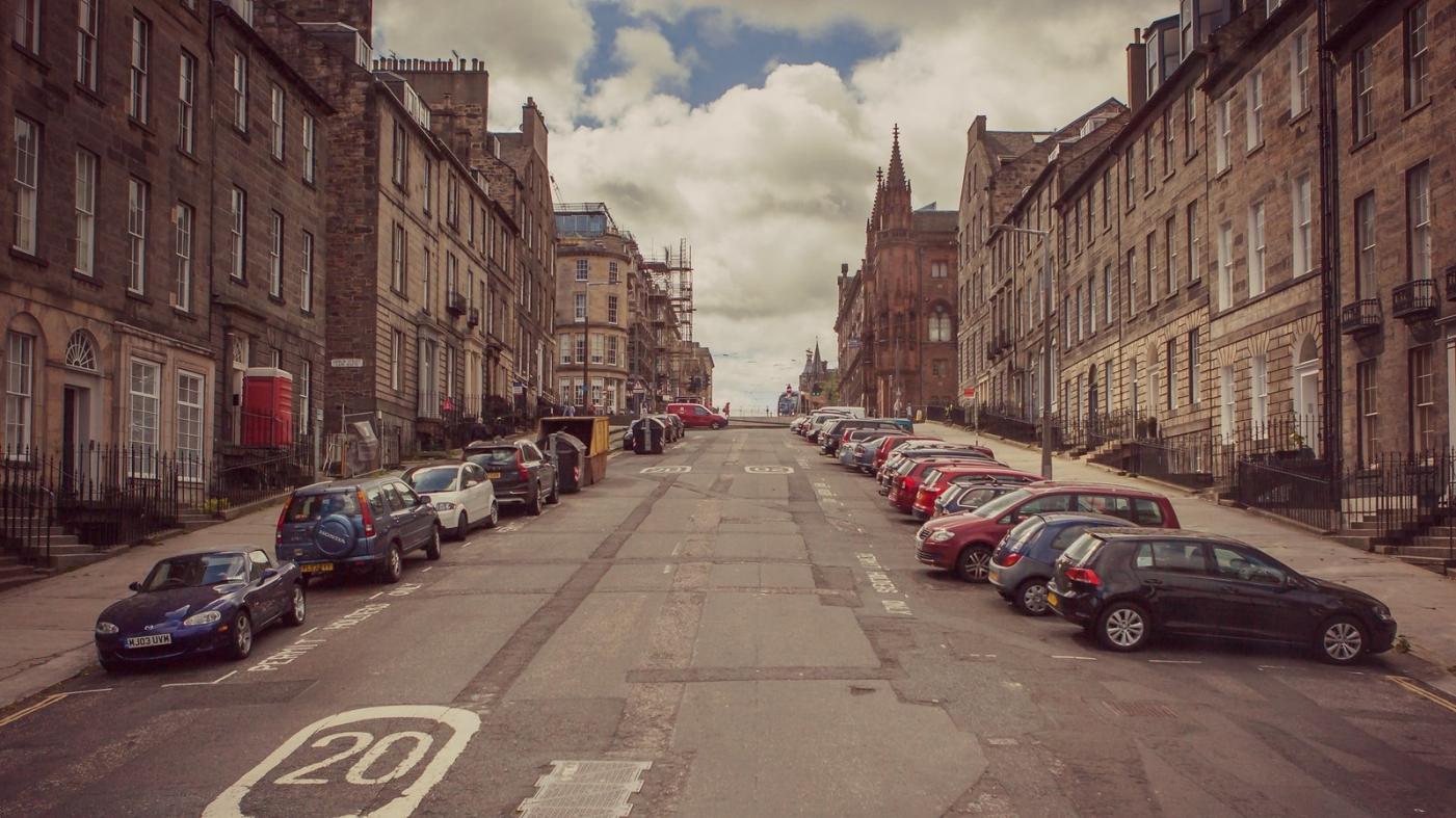 甦格蘭愛丁堡,十字路口看街景_圖1-8