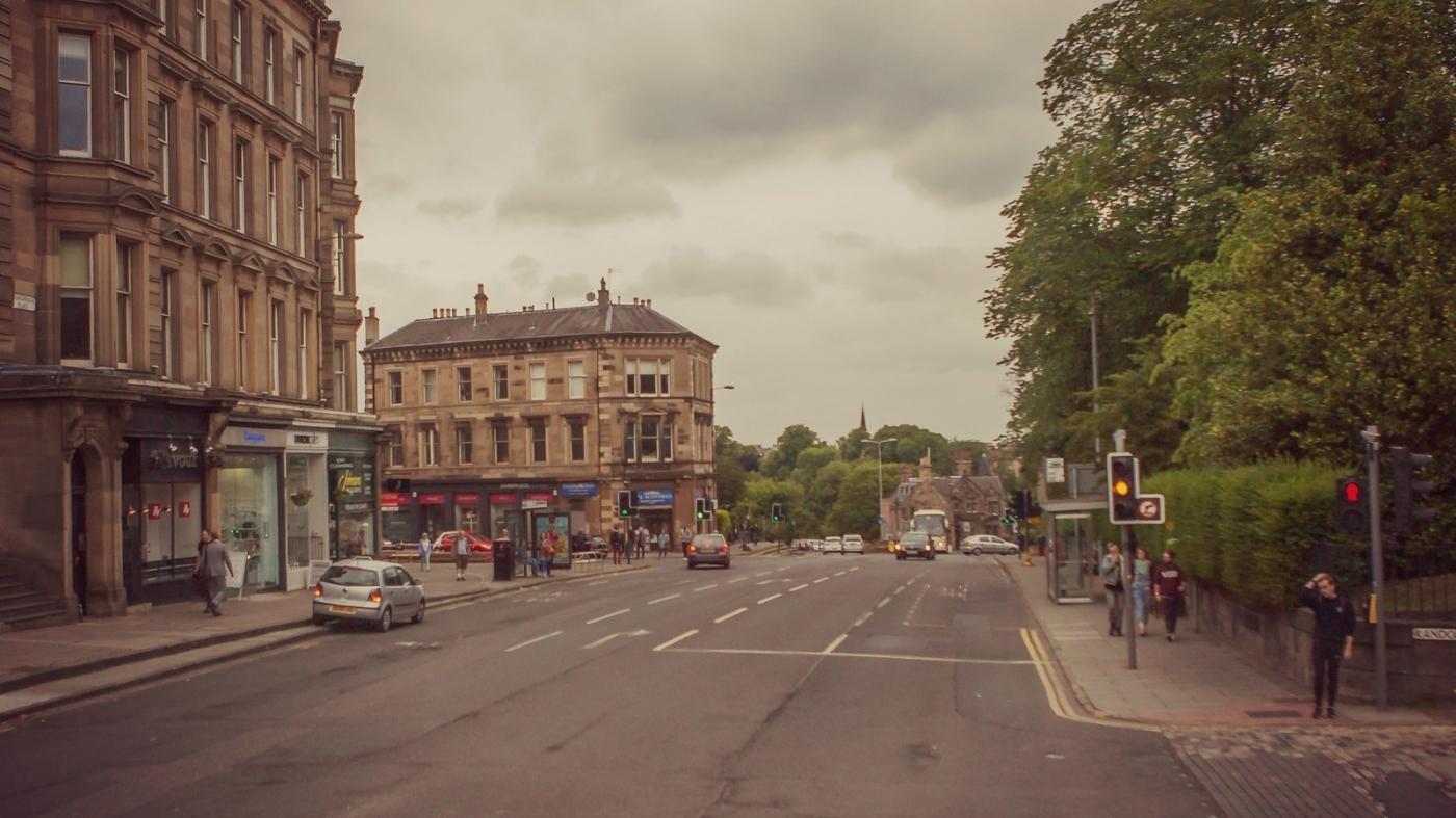 甦格蘭愛丁堡,十字路口看街景_圖1-4