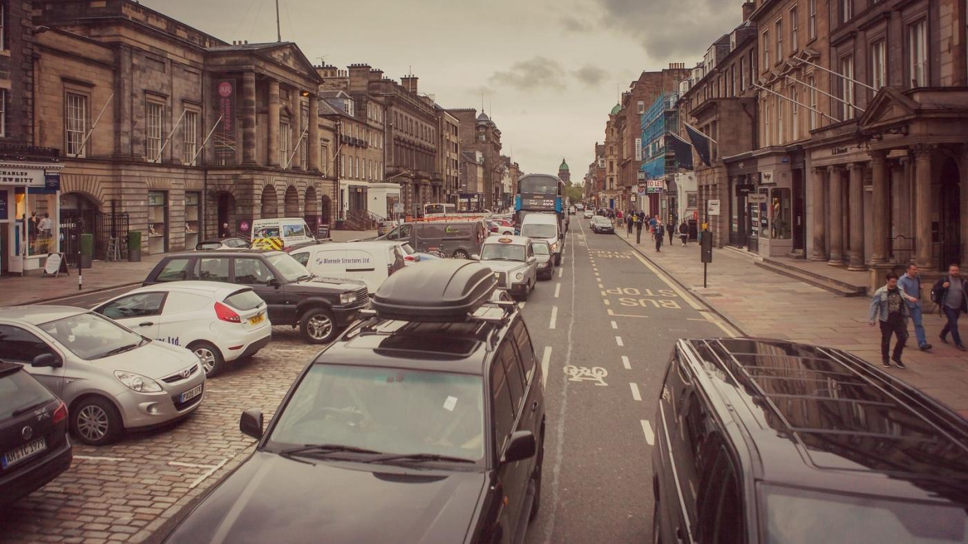 甦格蘭愛丁堡,十字路口看街景_圖1-15