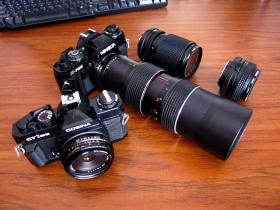 雷公的旧相机