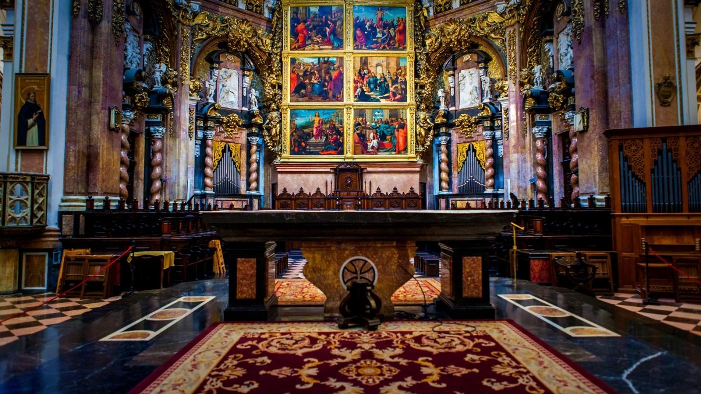 西班牙巴伦西亚主教堂,满眼的艺术精品_图1-3