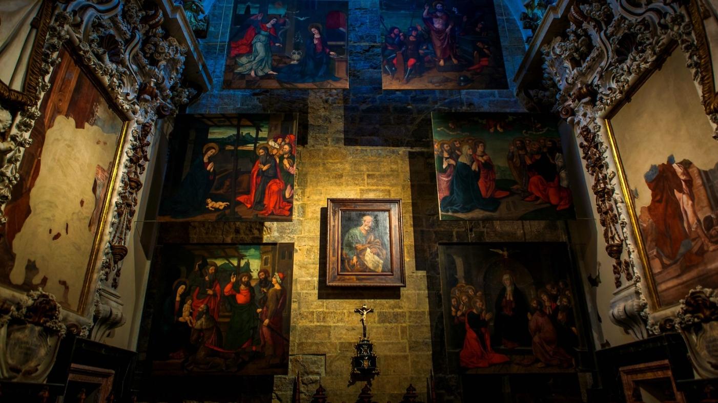 西班牙巴伦西亚主教堂,满眼的艺术精品_图1-5