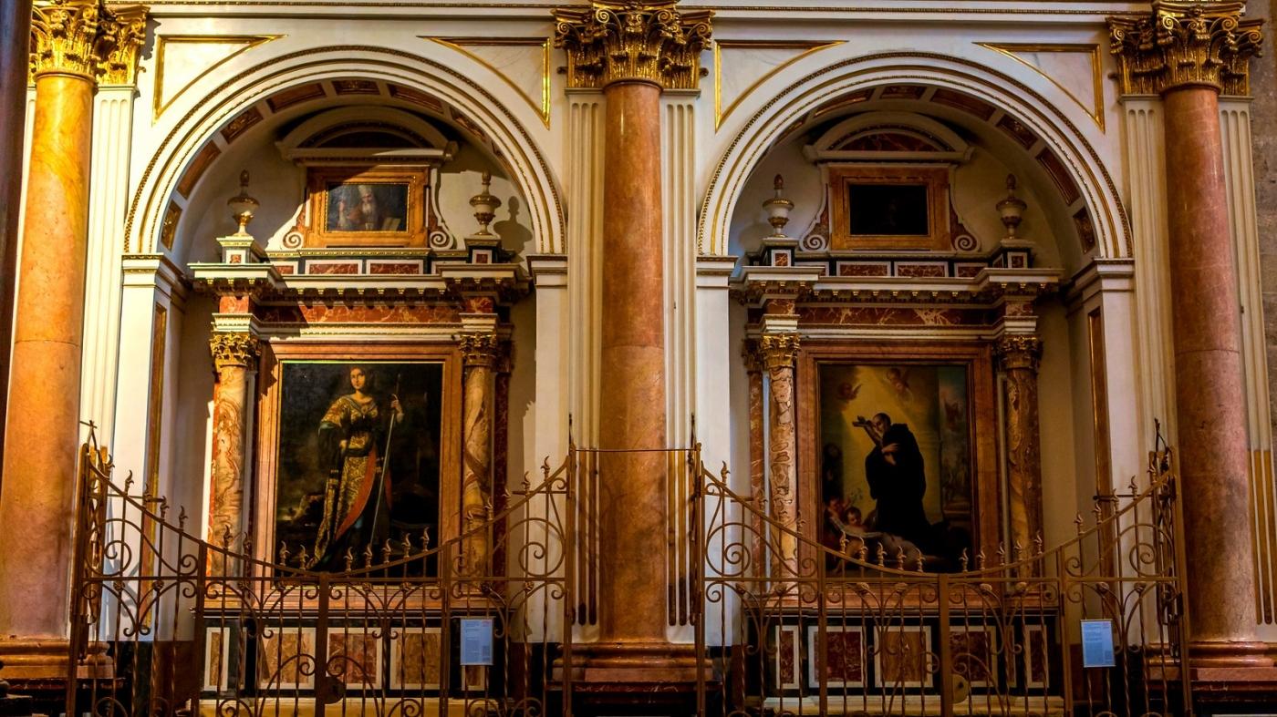 西班牙巴伦西亚主教堂,满眼的艺术精品_图1-4