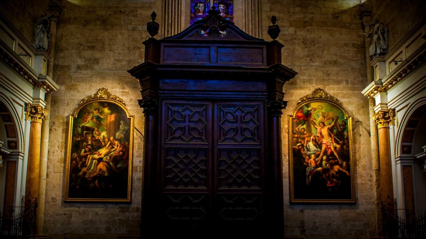 西班牙巴伦西亚主教堂,满眼的艺术精品_图1-6