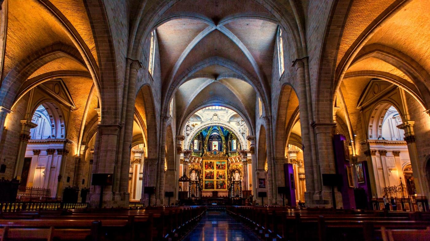 西班牙巴伦西亚主教堂,满眼的艺术精品_图1-11