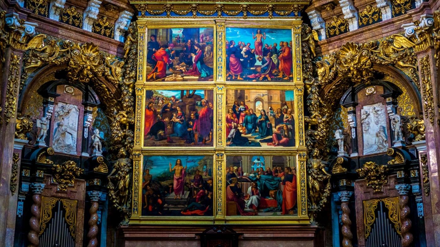 西班牙巴伦西亚主教堂,满眼的艺术精品_图1-10