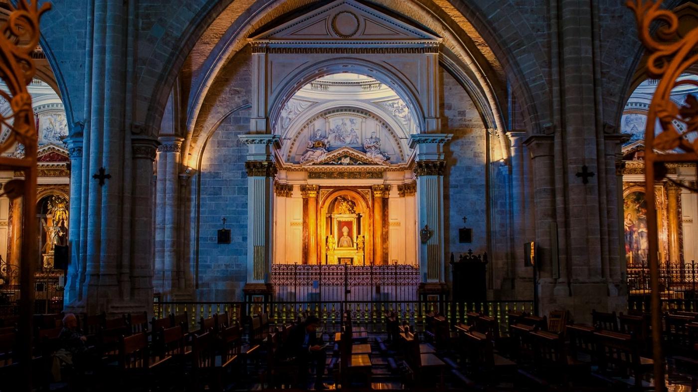 西班牙巴伦西亚主教堂,满眼的艺术精品_图1-14