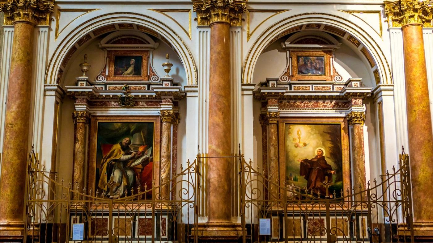 西班牙巴伦西亚主教堂,满眼的艺术精品_图1-16