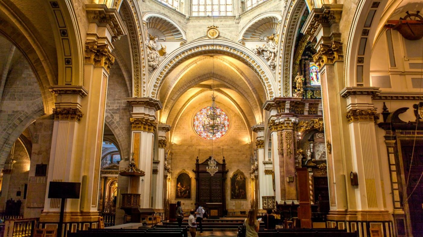 西班牙巴伦西亚主教堂,满眼的艺术精品_图1-17