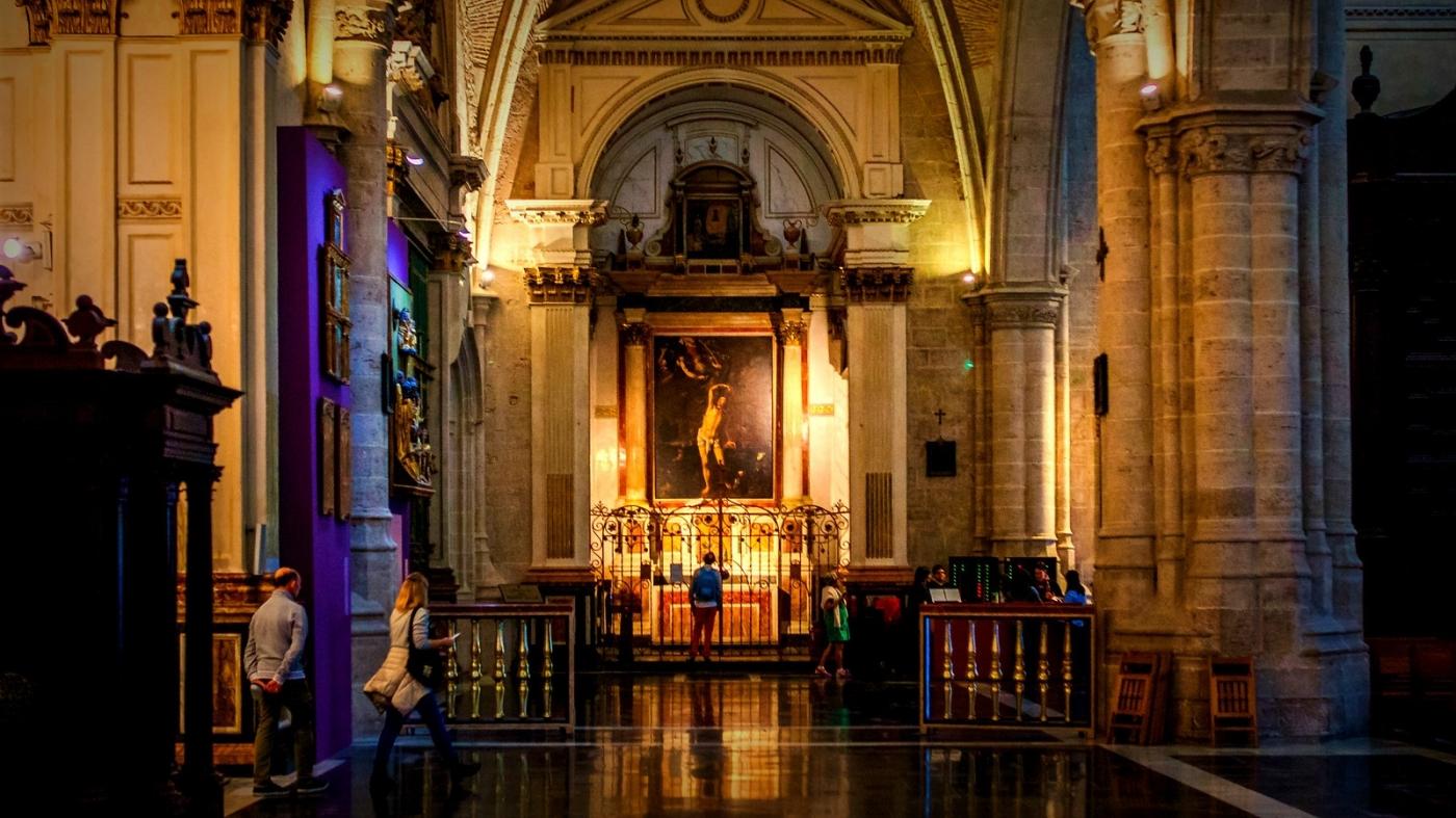 西班牙巴伦西亚主教堂,满眼的艺术精品_图1-18