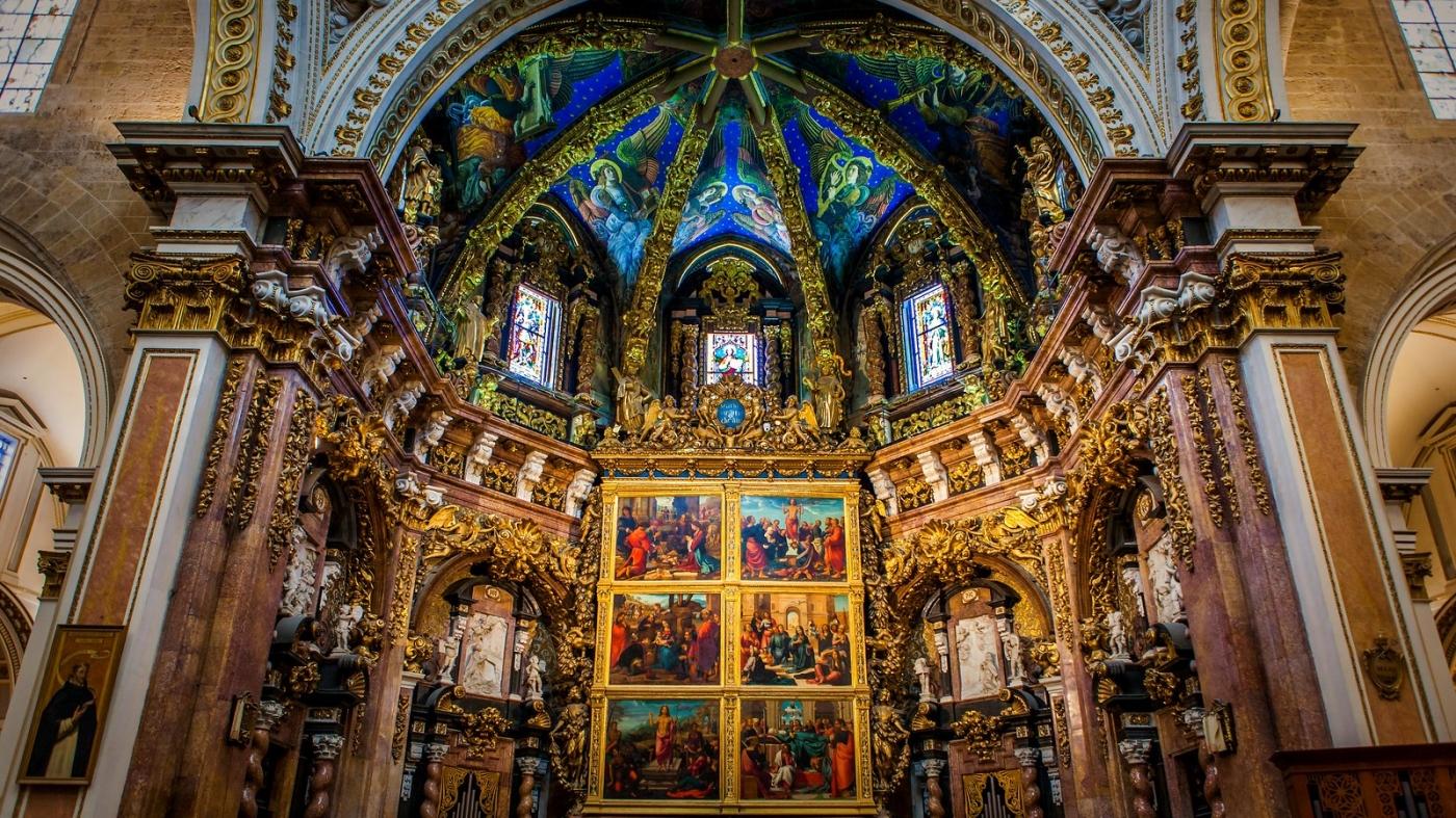 西班牙巴伦西亚主教堂,满眼的艺术精品_图1-20