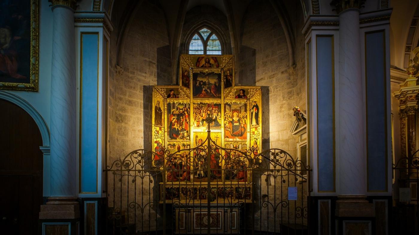 西班牙巴伦西亚主教堂,满眼的艺术精品_图1-22