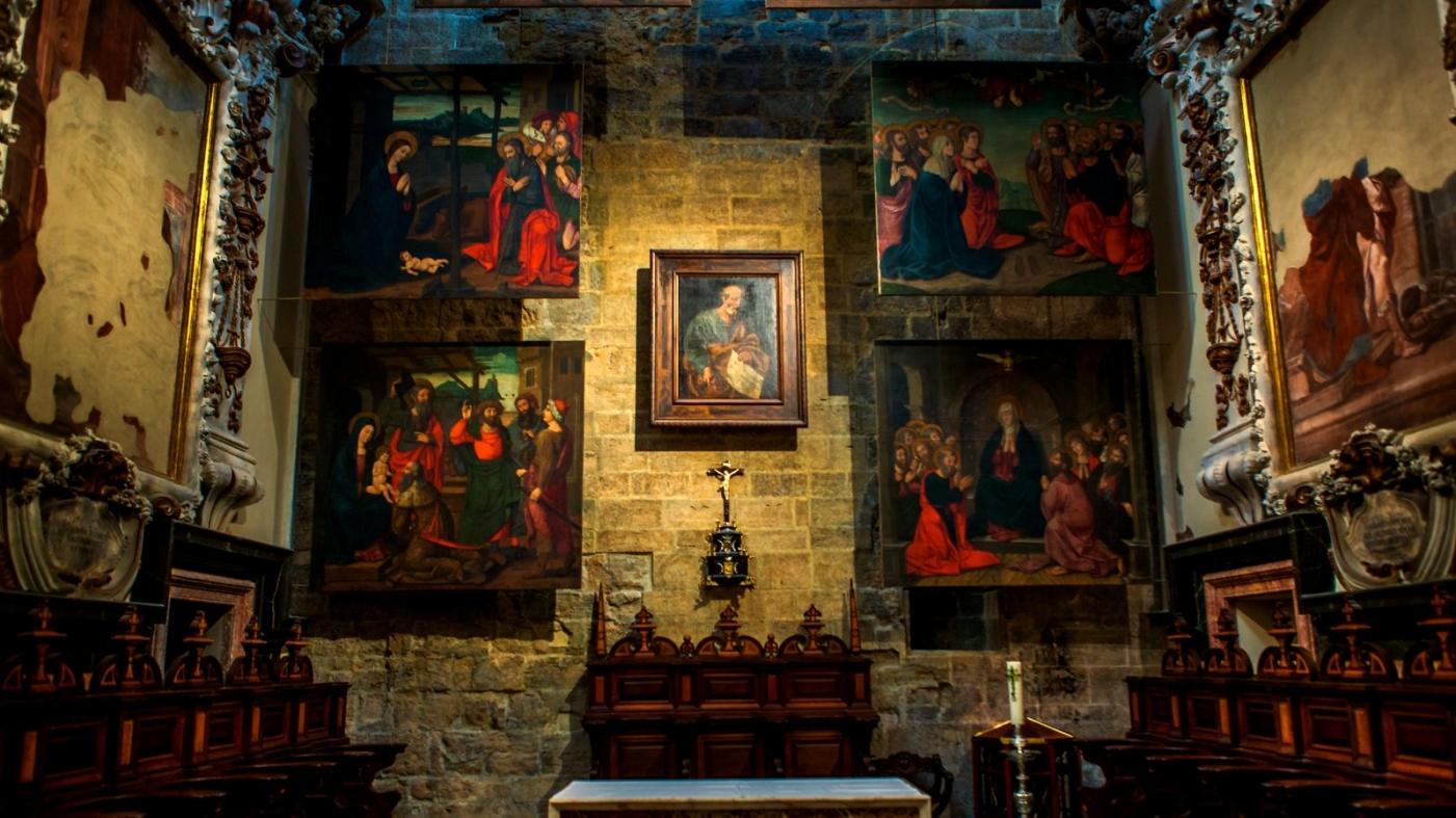 西班牙巴伦西亚主教堂,满眼的艺术精品_图1-23