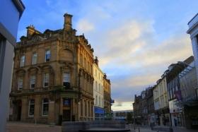 日出斯特林,苏格兰古城的宁静
