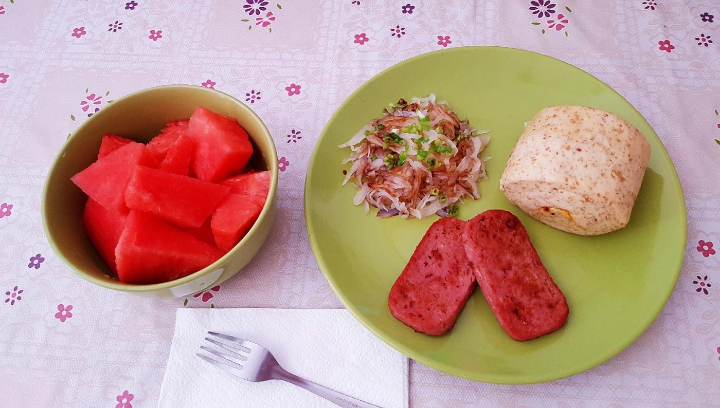 [田螺随拍]分享我做给女儿吃的夏日午餐二_图1-4
