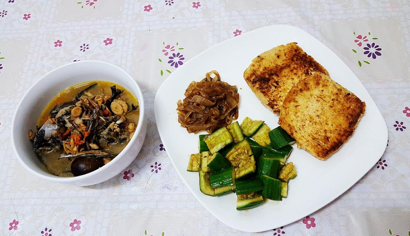 [田螺随拍]分享我做给女儿吃的夏日午餐二_图1-5