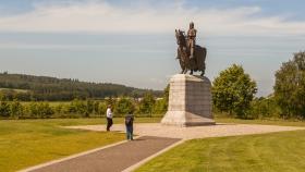 苏格兰班诺克本纪念碑,第一次独立战争的标