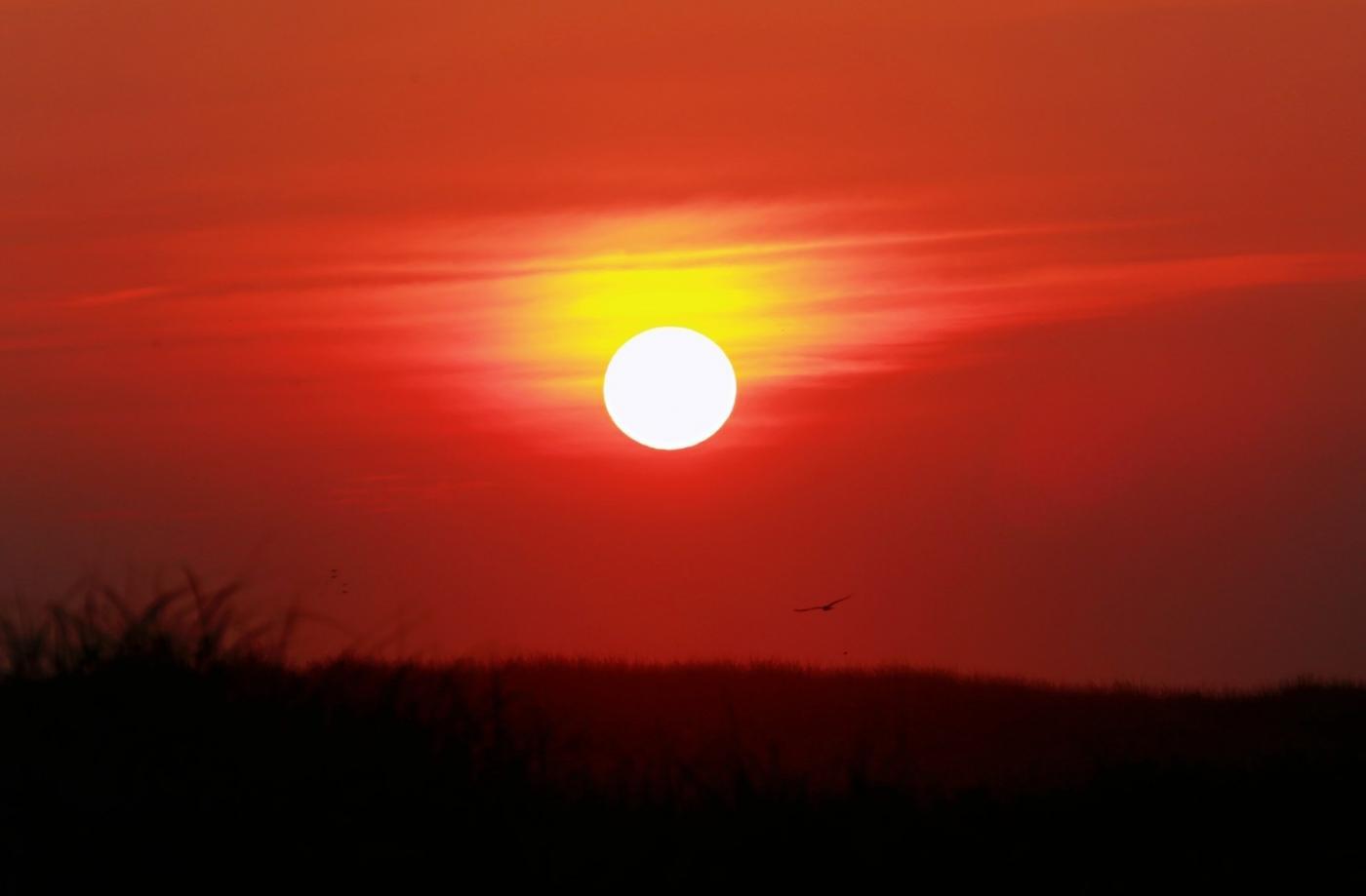 【田螺摄影】写长沙滩的日出日落_图1-6
