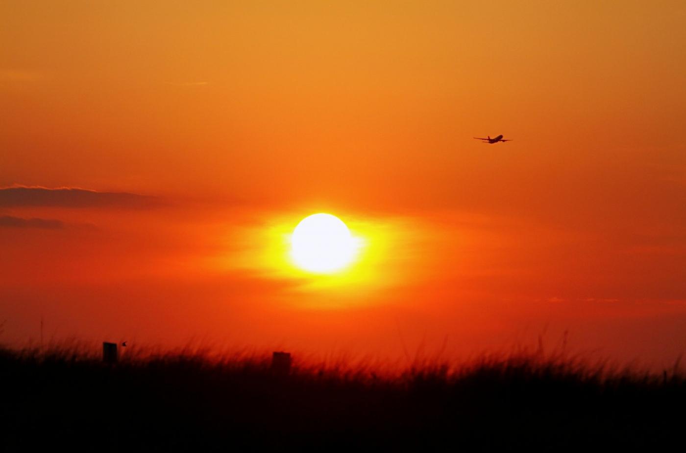 【田螺摄影】写长沙滩的日出日落_图1-7