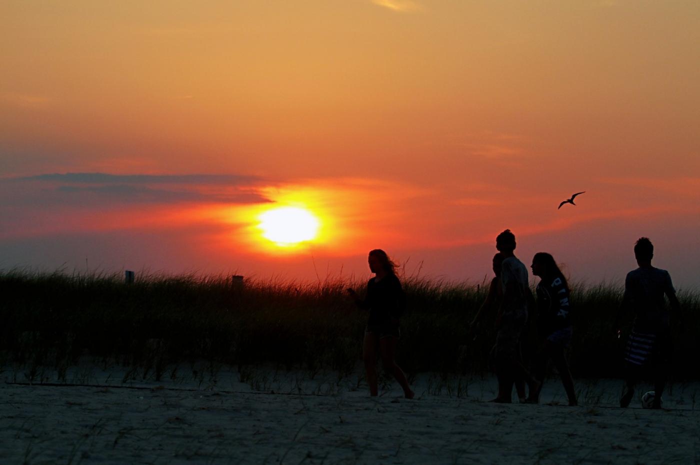 【田螺摄影】写长沙滩的日出日落_图1-10