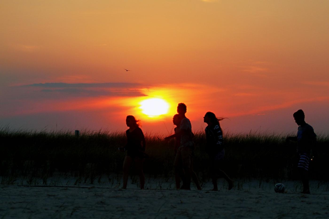 【田螺摄影】写长沙滩的日出日落_图1-11