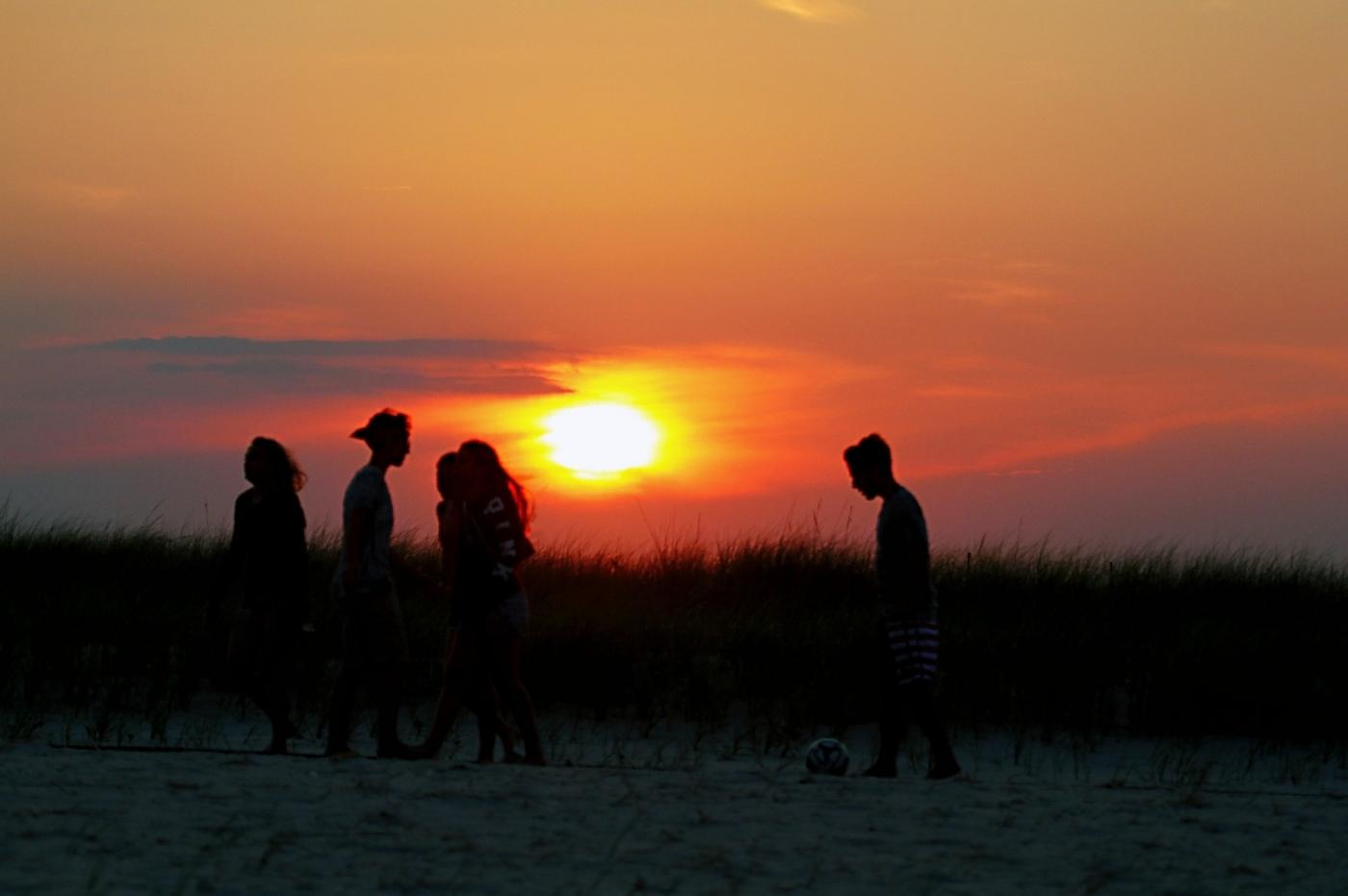 【田螺摄影】写长沙滩的日出日落_图1-12
