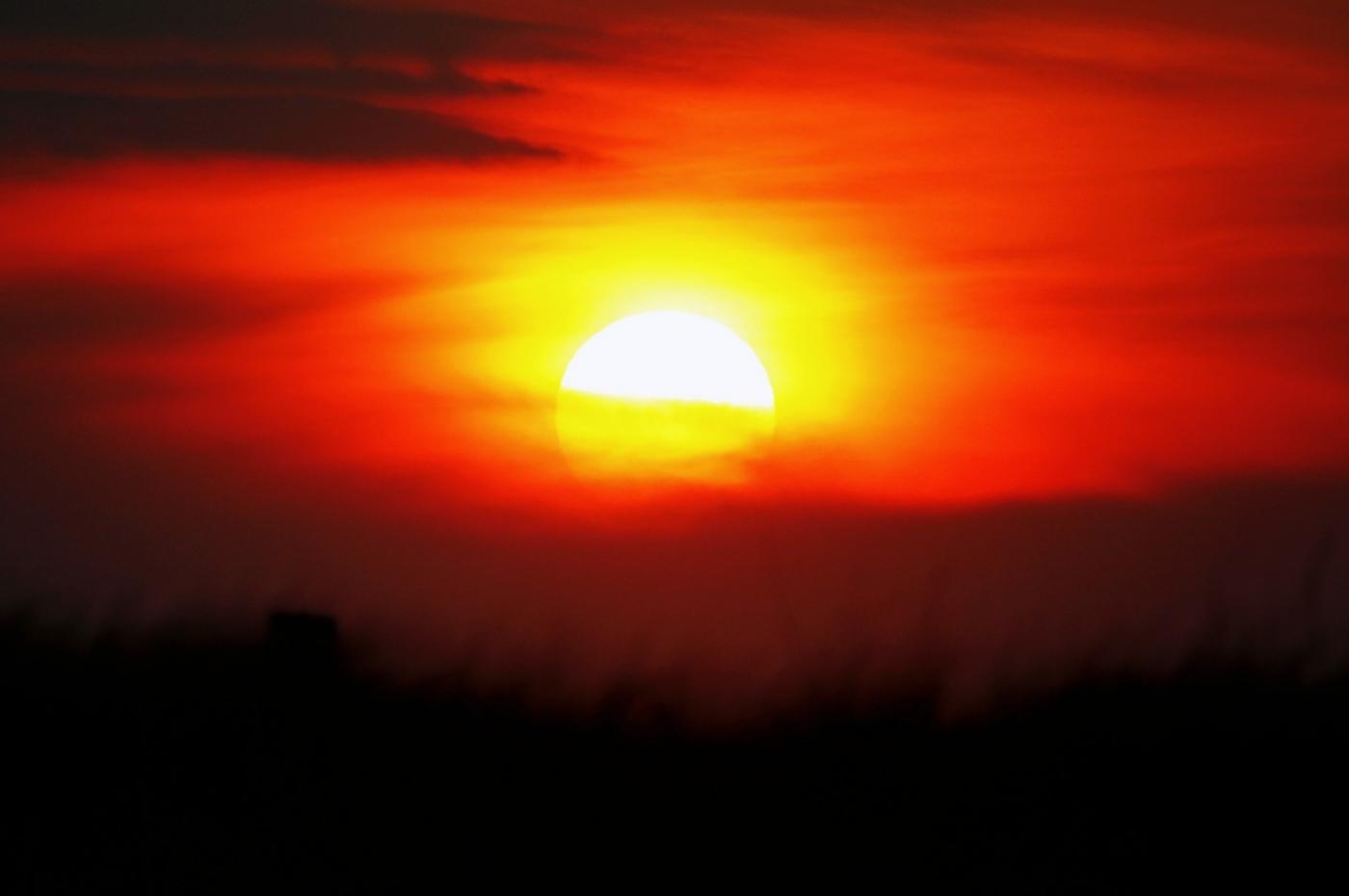 【田螺摄影】写长沙滩的日出日落_图1-13
