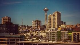 美国西雅图,全景名片