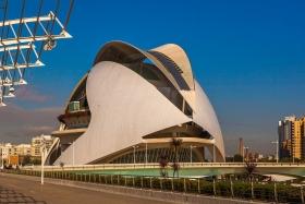 西班牙巴伦西亚艺术科学城,很酷的建筑群