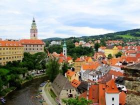 克鲁姆洛夫,风景如画的捷克古